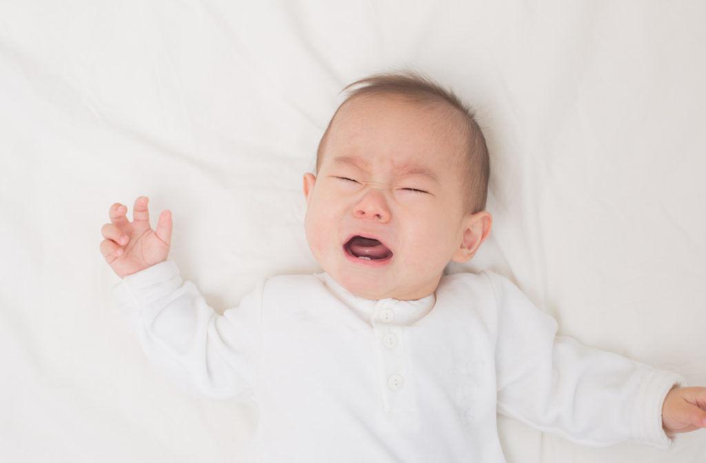 Cực kỳ nguy hiểm khi để bé khóc thét quá lâu