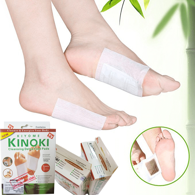 KINOKI - Detox 100% Thảo Dược Thiên Nhiên